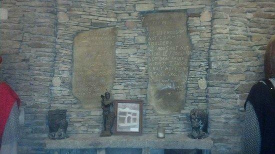 Loveland Castle: Code of honor based on Ten Commandments