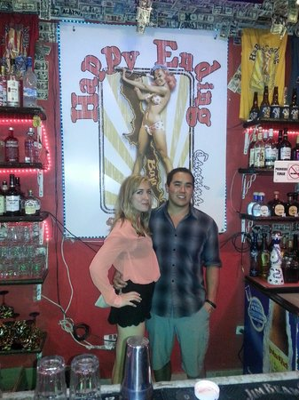 Happy Ending Cantina : Behind the bar at Happy Ending