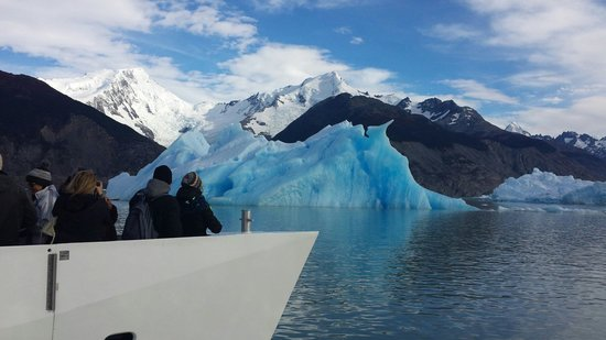 Solo Patagonia S.A. Day Tours: View from the ship