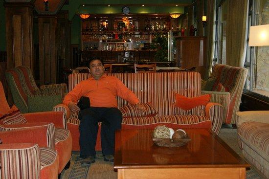 Quijote Hotel: Lobby muy acojedor
