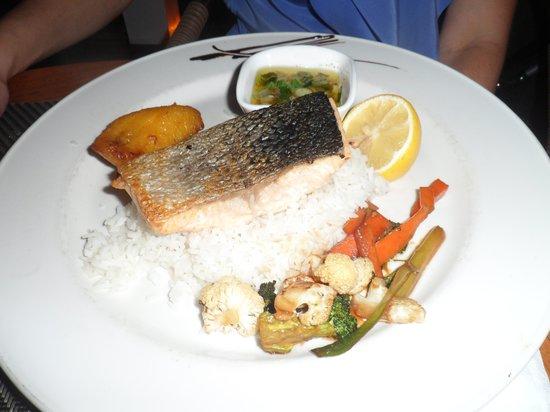 Mercure Saint-Martin Marina & Spa: Les pâtés aux fruits de mer
