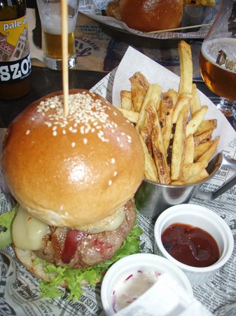 Uncle Fletch: BIG Burger