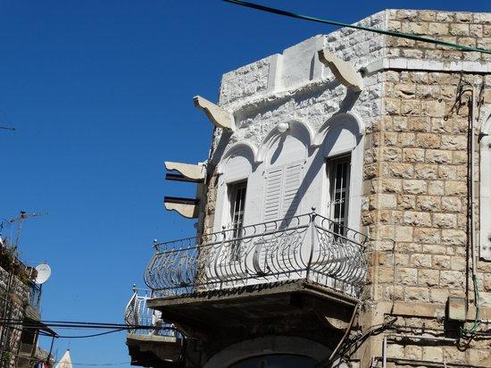 Wadi Nisnas: il y avait la  un beau balcon