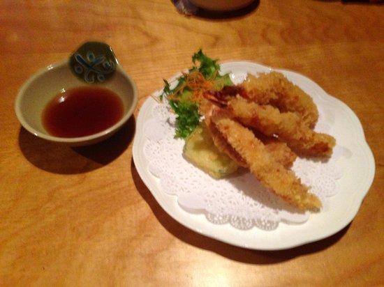 Moritomo Japanese Restaurant : Tempura Vegetable lunch special