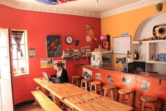 Hostel Revolution: Reception+Bar