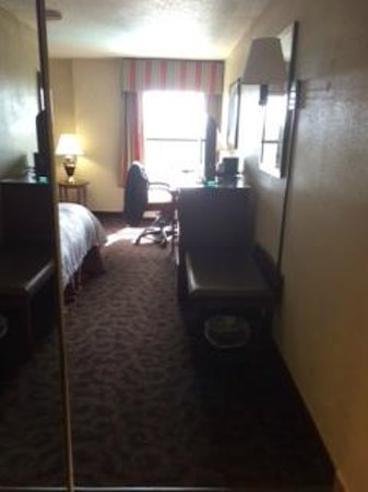 Hampton Inn Beaumont: Room