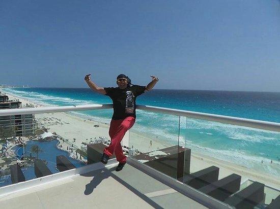 Hard Rock Hotel Cancun: Me lleva el viento