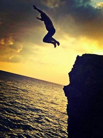 Catcha Falling Star: Cliffs at Catcha