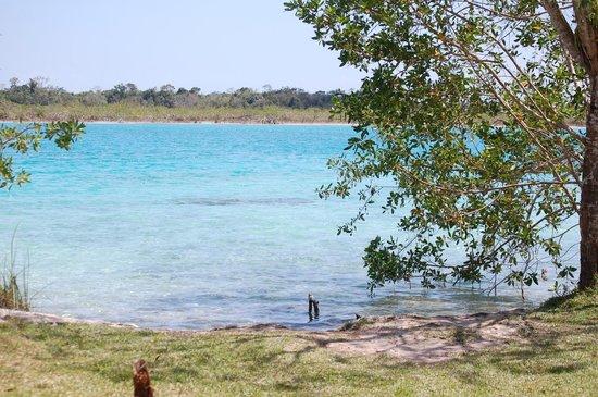 Explorean Kohunlich : Laguna Bacalar