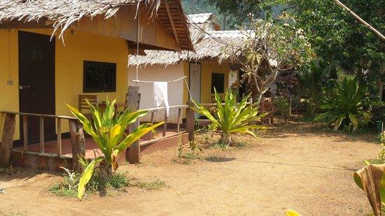 Klong Jark Bungalows: Aircondion bungalows.