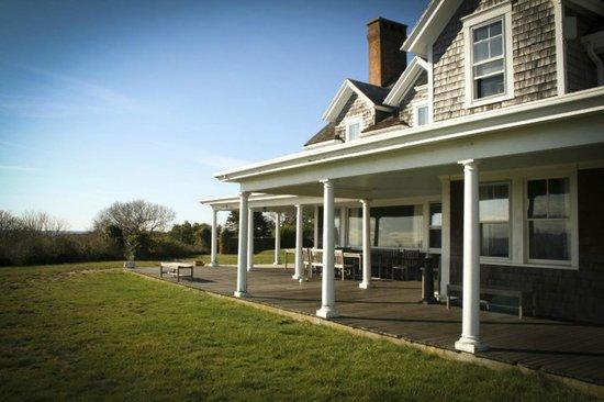 Avalon, The Inn on Cuttyhunk Island: porch