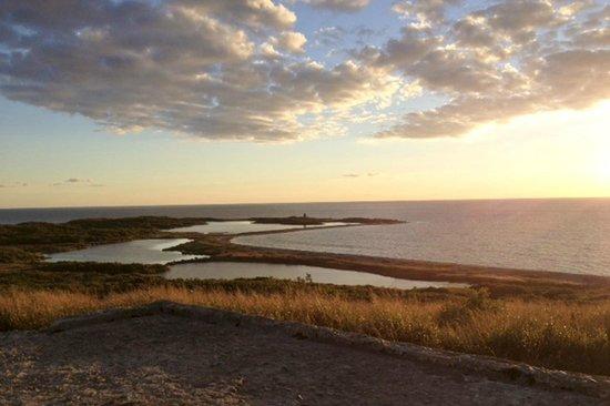 Avalon, The Inn on Cuttyhunk Island: sunset