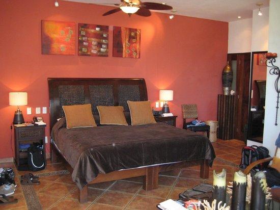 Casa Cupula: Great, comfy bed