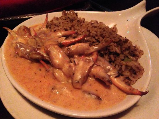 Pappadeaux Seafood Kitchen: They aren't on the menu, but ask for the Sautéed Crab Fingers as an appetizer. Get a side of Fre