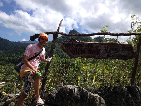 Ugong Rock : At the peak