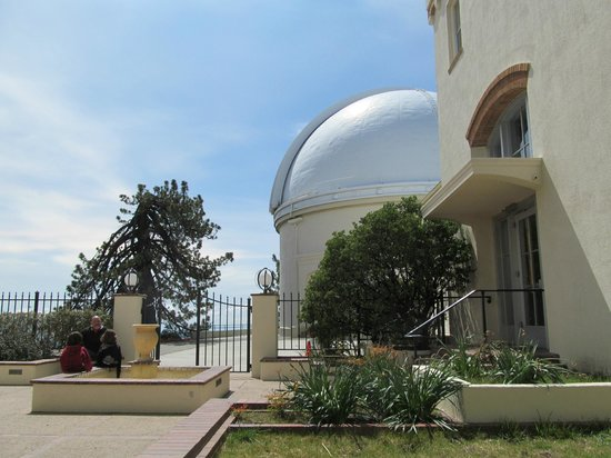 Lick Observatory: from Courtyard