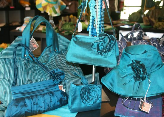 Margaret River Silk Road: Beautiful Silk Products in Showroom