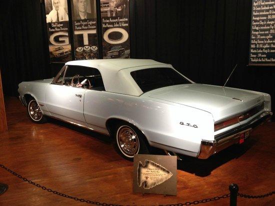 Pontiac-Oakland Automobile Museum: GTO