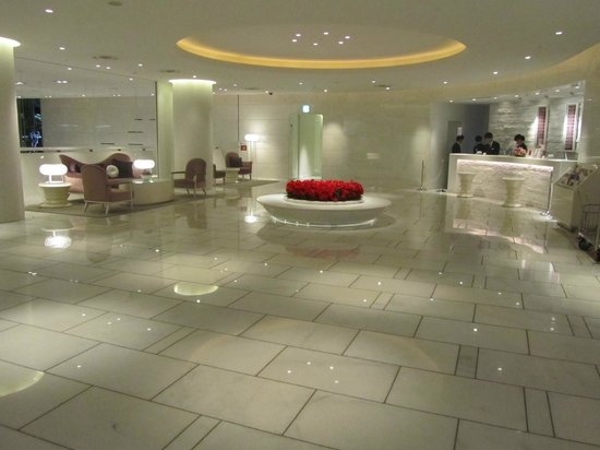 Hotel Elsereine Osaka : check-in lobby on 2nd floor