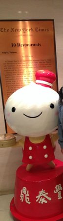 Din Tai Fung (Silvercord): Xia Long Bao cartoon character