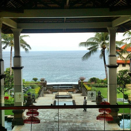 Hilton Bali Resort : Breath taking view from the lobby, Awesome!!