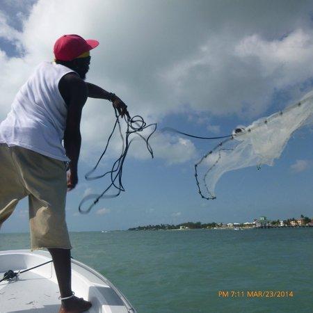 Seakarus Tours: Getting bait