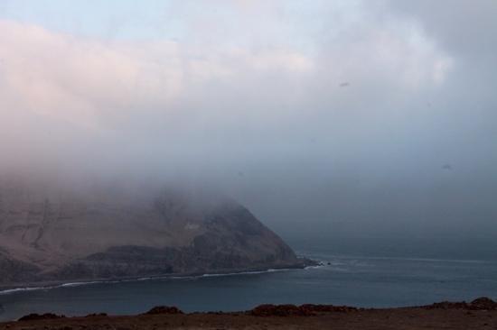 Costa Verde: nevoas, terra e mar.