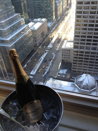 Waldorf Astoria New York: Champagne and a View