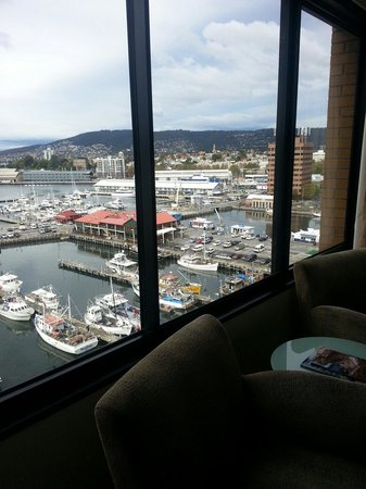 Grand Chancellor Hotel Hobart: View from room