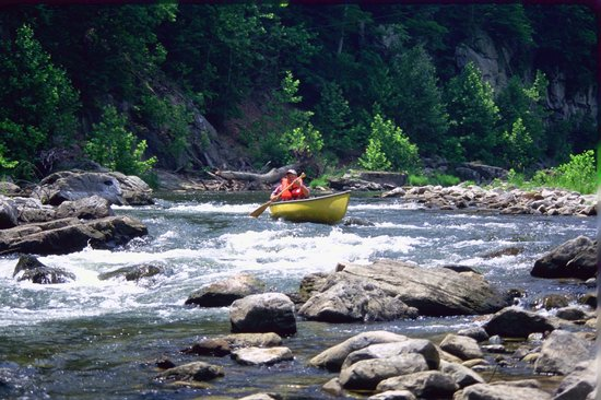 Smoke Hole Caverns: Canoeing the North Fork of the South Branch River