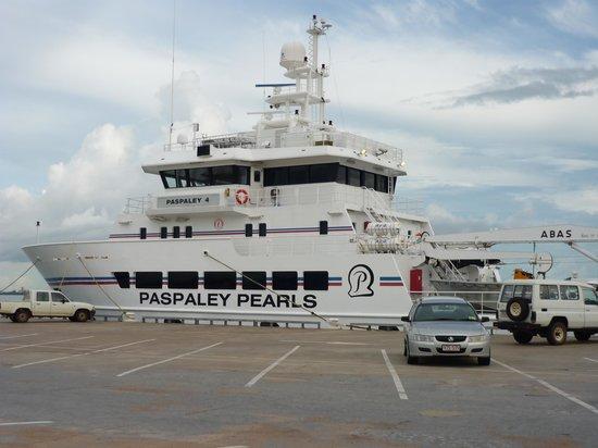 Darwin Wharf Precinct: Paspaley Pearl Lugger