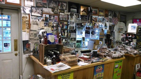 Bell's Meat and Poultry: Lots of customer photos decorate the walls!