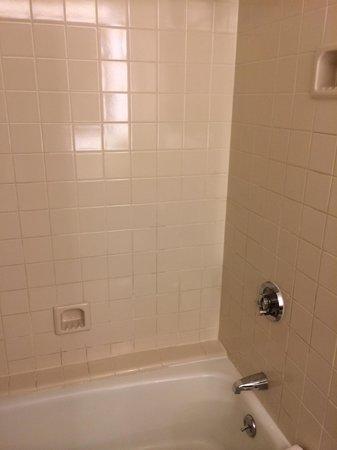Hyatt Regency Cincinnati : Unrenovated old tub and tile surround