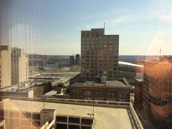 Hyatt Regency Cincinnati: View from room 1810