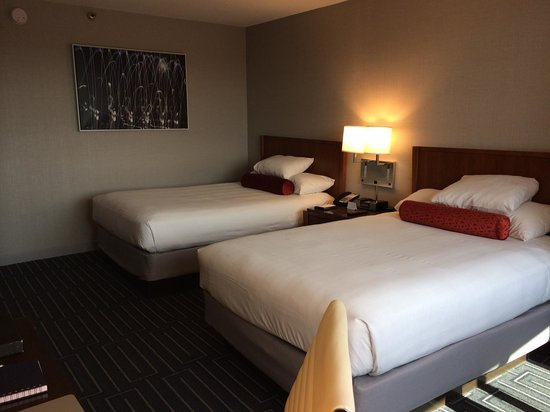 Hyatt Regency Cincinnati: Very comfy beds