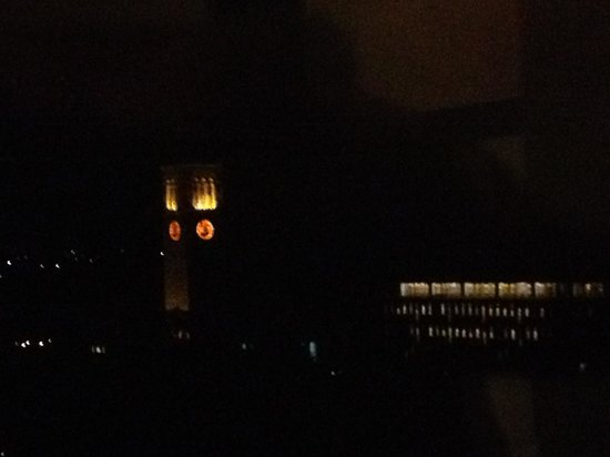 The Statler Hotel at Cornell University : At night