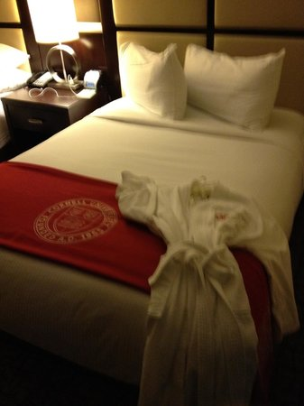 The Statler Hotel at Cornell University : Comfortable Beds