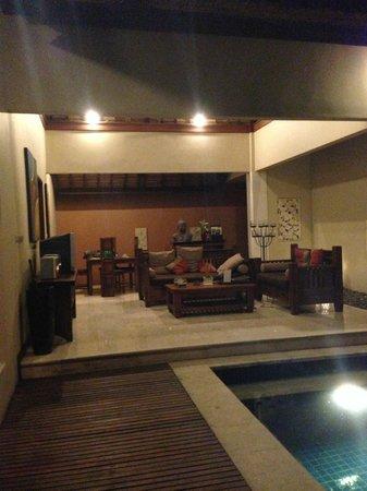 Bhavana Private Villas: living room