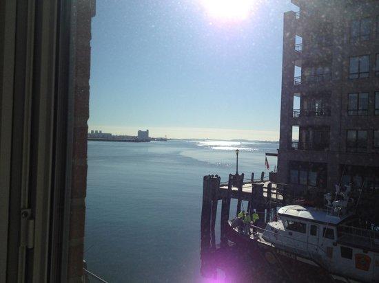 Battery Wharf Hotel, Boston Waterfront: View from Bedroom