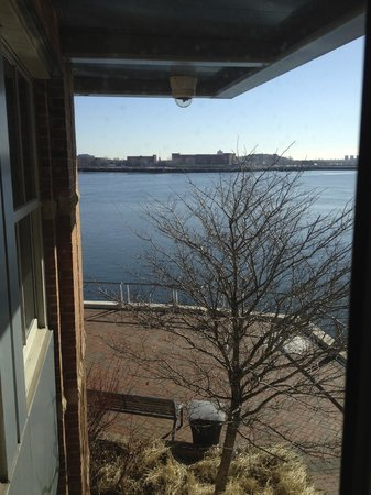 Battery Wharf Hotel, Boston Waterfront: View of the Harbor