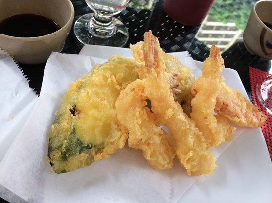 Hilton Hawaiian Village Waikiki Beach Resort: Delicious Tempura served at Rocky's Brasserie