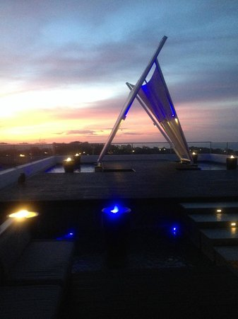 The Jimbaran View: View from rooftop bar