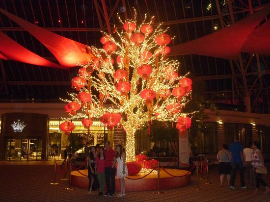 Crown Metropol Perth: Chinese New Year in foyer