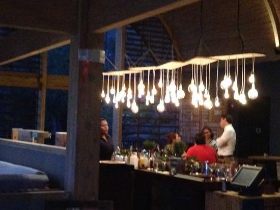 Andaz Peninsula Papagayo Resort : bar chao pescao
