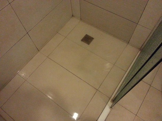 Go Hotels Mandaluyong: The Shower room drainage is flooded!
