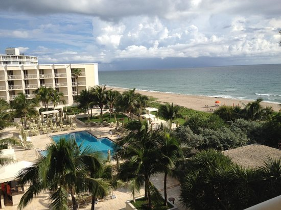 Four Seasons Resort, Palm Beach: View from Room Deck