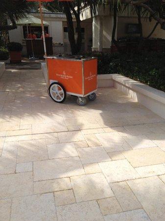 Four Seasons Resort, Palm Beach : Ice cream cart