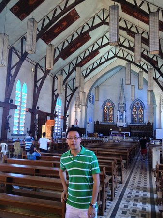 Plaza Cuartel : The cathedral hall