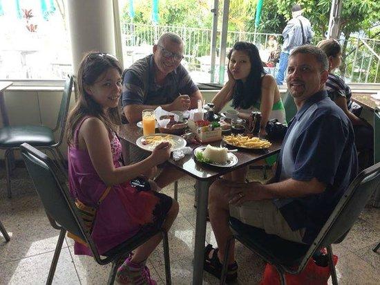 Luis Darin Tour Guide In Rio: Breakfast with Rio Guide Luis Darin