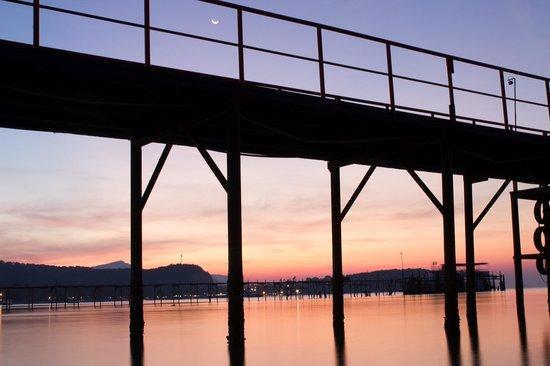 Samui Pier Resort : Sunset